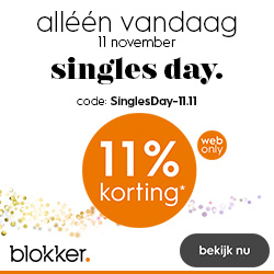 Happy Singles Day Blokker
