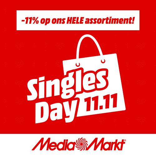Singles Day MediaMarkt actie